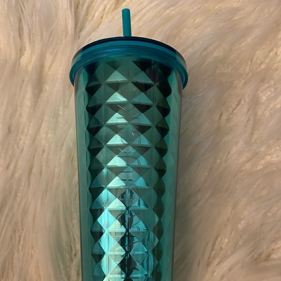 Starbucks Turquoise Studded Cold Cup